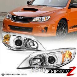 08-11 Subaru Impreza WRX Sedan Wagon Left Right Replacement Headlights Assembly