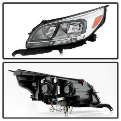 13-15 Chevy Malibu Halogen Model Headlight Replacement Left Driver Side Assembly