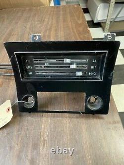 1968 Chevy Impala Caprice Dash Control Heater Defrost Radio Bezel 1120