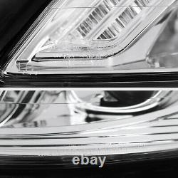 2007-2013 M-Benz W221 S550 S63 S65 AMG NEWEST DRL Chrome D1S Headlights Lamps