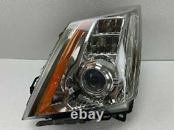 2008-14 Cadillac CTS Driver Left Xenon HID AFS Headlight Headlamp NICE ALL TABS