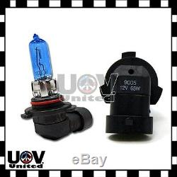 2 X 9005 65w 12v Power White Gas Xenon Halogen 5000k light Bulbs Replacement U3