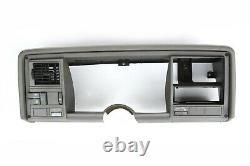 88-94 Chevy GMC Truck 1500 Silverado Tahoe Dash Bezel Trim Gray on Gray OEM