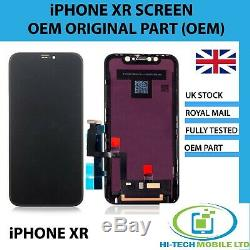 Apple iPhone XR GENUINE Replacement LCD Touch Screen OLED Assembly 6.1 OEM