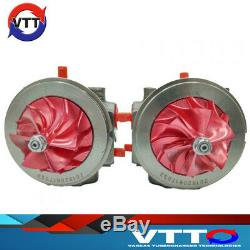 BMW N54 CHRA OEM REPLACEMENT TD04 Thrust Assembly & Billet Compressor Wheel