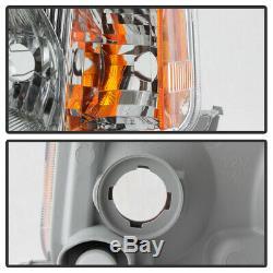 Bluetooth RGB LED Bulbs 04-06 Scion xB Chrome Replacement Headlight Assembly