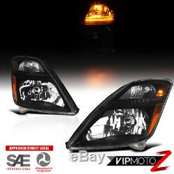 CREE LED Bulb Installed For 06-09 Prius Black Replacement Headlight Assembly