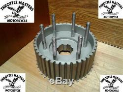Clutch Hub Assembly for Harley Iron Head late 1957-1966 replaces OEM 37556-57