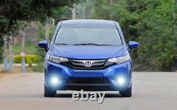 Complete CREE XB Projector Fog Lights withBezel Covers, Wiring For 15-up Honda FIT