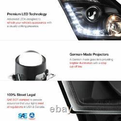 For 03-05 FairLady Z33 350z New JDM Black Projector Headlight+LED Daytime DRL
