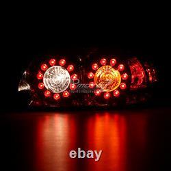 For 04-08 Mazda RX8 RX-8 Shinka Smoke LED JDM Rear Brake Signal Tail Lights Lamp