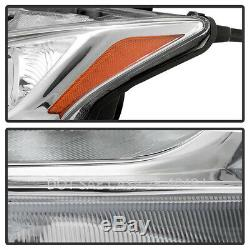 For 09-14 Nissan Maxima Halogen Headlight Model Replacement Lamp Assembly Pair