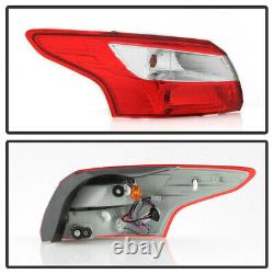 For 12-14 Ford Focus 4DR Sedan Tail Light Brake Lamp Replacement LH+RH Assembly