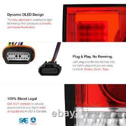 For 15-20 Ford F150 Blind Spot Sensor Models Red LED Light Bar Tail Brake Lamp