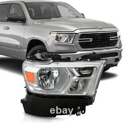 For 19-21 RAM 1500 RH Right/Passenger Side Replacement Headlight Lamp Assembly