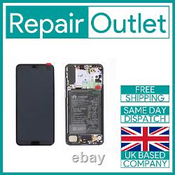 For Huawei P20 Pro Replacement AMOLED LCD Screen and Digitizer Assembly (Black)