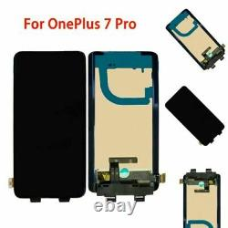 For OnePlus 7 Pro Black Replace OEM LCD Display Touch Screen Digitizer Assembly