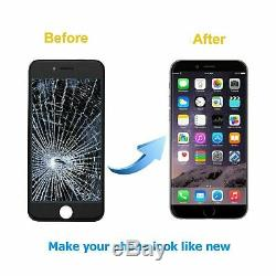 For iPhone 7 Plus LCD Screen digitizer Assembly Replacement Black orignal OEM IC