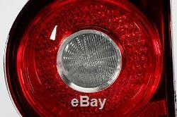 Golf MK5 04-09 Dark Red Inner Tail Rear Lights Lamps Set Pair Left Right LHD