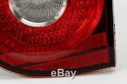 Golf MK5 04-09 Dark Red Inner Tail Rear Lights Lamps Set Pair Left Right LHD