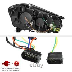 LATEST DESIGN DRL For 07-13 Mercedes W221 S Class AMG LED Black Headlight D1S