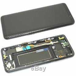 LCD Screen For Samsung Galaxy S8 Black Replacement Frame Digitizer Assembly UK