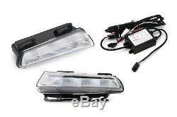 Left/Right OEM-Spec LED DRL Daytime Running Lamps Kit For 13-15 Smart Fortwo