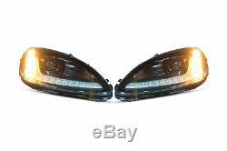 Morimoto XB LED Headlights & Red Tail Lights For 2005-2013 Chevrolet Corvette C6