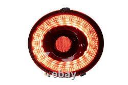 Morimoto XB LED Red Tail Light Assemblies For 2005-2013 Chevrolet Corvette C6