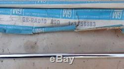 NOS 1959 1962 Chevy Impala RADIO ANTENNA ROD Original GM Bel Air Corvair