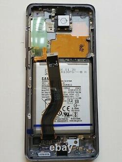 OEM Samsung Galaxy Gray S20 plus LCD Display Touch Screen Assembly Replacement