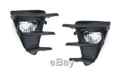 OEM Spec 20W Osram LED Fog Light Kit withBezel Covers, Wirings For 17+ Toyota 86