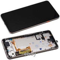 OLED Screen For Google Pixel 3 XL Replacement Touch Glass Assembly Frame Pink UK