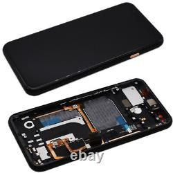 OLED Touch Screen For Google Pixel 4 Replacement Assembly Frame Orange Repair UK