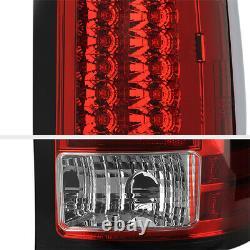 PREMIUM For 07-13 GMC Sierra 1500 2500 3500 HD Factory RED LED Tail Light Lamp