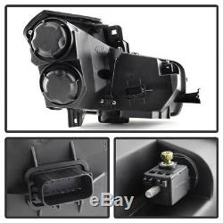 SO COOL 03-07 Cadillac CTS Smoke Projector Headlight Pair Replacement Assembly
