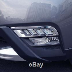 Sequential Dynamic Blink Switchback LED Daytime Running Lights For Nissan Kicks