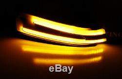 Side Mirror Sequential Blink Turn Signal Light For Mercedes C E S CLA CLS GLK